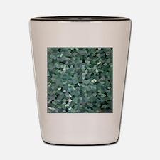 Broken Glass Art Shot Glass