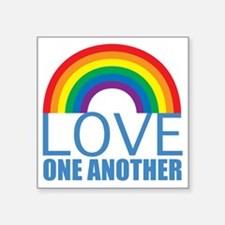 "loveoneanother Square Sticker 3"" x 3"""