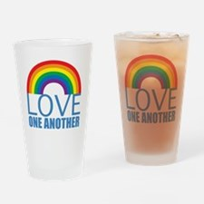 loveoneanother Drinking Glass