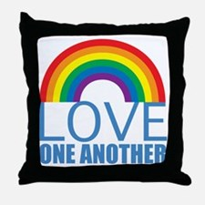 loveoneanother Throw Pillow