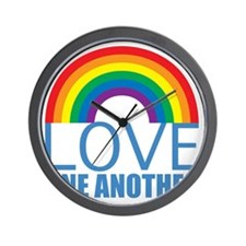 loveoneanother Wall Clock