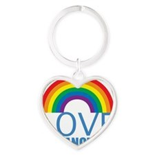 loveoneanother Heart Keychain