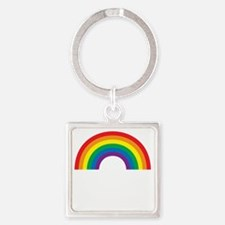 loveoneanotherwh Square Keychain