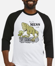 Dont Mess With T Rex Baseball Jersey
