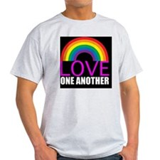 loveoneanothersquare T-Shirt