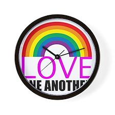 loveoneanotherpink Wall Clock
