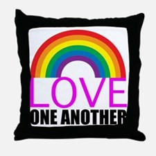 loveoneanotherpink Throw Pillow