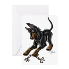 Manchester Terrier Greeting Card