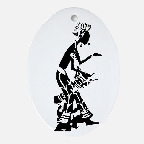 Djembefola Oval Ornament