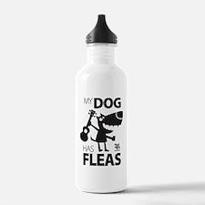 My Dog Has Fleas 13 Water Bottle