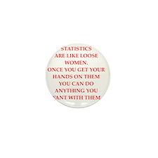 STATISTICS Mini Button