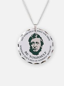 thoreau-be-you-LTT Necklace Circle Charm