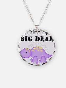 Dinosaur Kind of a Big Deal Necklace