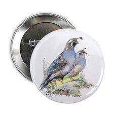 """calif quai pairl  2.25"""" Button"""