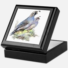 calif quai pairl  Keepsake Box