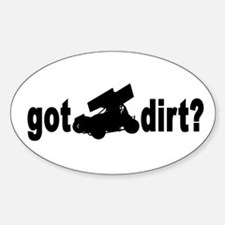 Got Dirt? Oval Decal