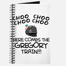 Gregory Train Journal