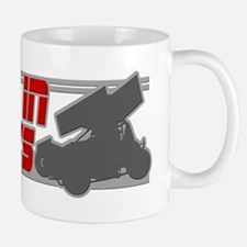 Sideways -Red/Grey Mug