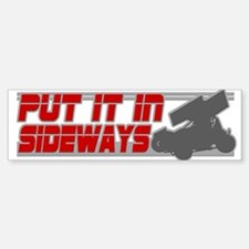 Sideways -Red/Grey Bumper Bumper Bumper Sticker