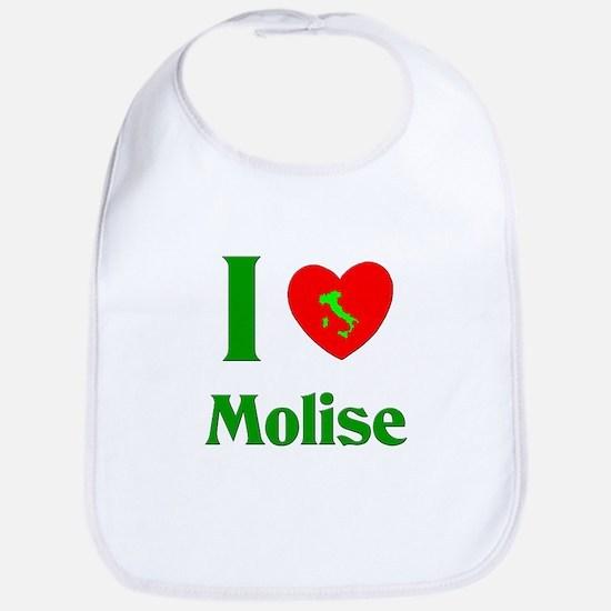 I Love Molise Italy Bib