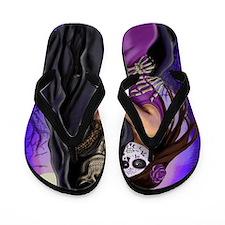 Grim Reaper Lovers Embrace Flip Flops