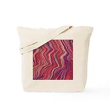 colorful oil marbling print Tote Bag