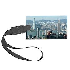 HongKong_5.5x7.5_FlatCard_HongKo Luggage Tag