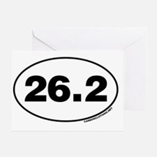 26.2 Miles Greeting Card