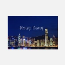 HongKong_17.44x11.56_LargeServing Rectangle Magnet