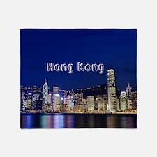 HongKong_17.44x11.56_LargeServingTra Throw Blanket