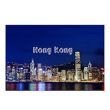HongKong_17.44x11.56_Larg Postcards (Package of 8)