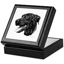 Black Dane Keepsake Box