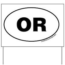 Oregon, OR Yard Sign