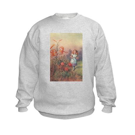 Talking Flowers - Kids Sweatshirt