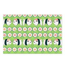 Nigiri-Pug Postcards (Package of 8)