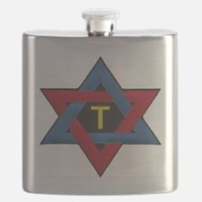 Hexagram Tau Patch Flask