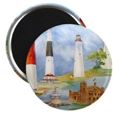 New Jersey Light houses Magnet