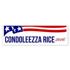 Condoleezza Rice 2016 Bumper Sticker