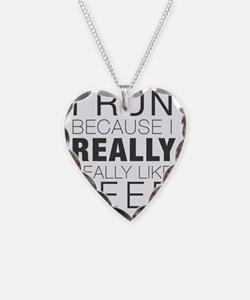 Run for Beer. Necklace