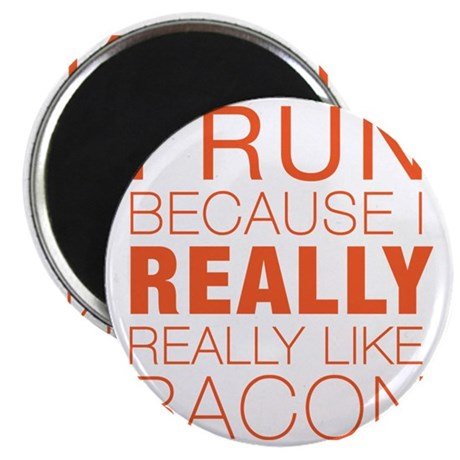 Run For Bacon Magnet