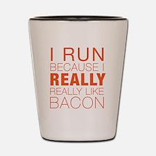 Run For Bacon Shot Glass