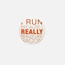 Run For Bacon Mini Button
