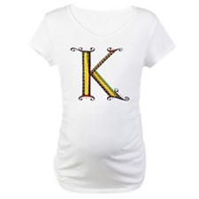 What Fun Monogram K Shirt