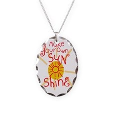 Make Your Own Sun Shine Necklace