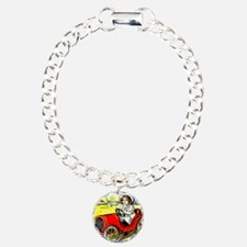 Dolly Drive Charm Bracelet, One Charm