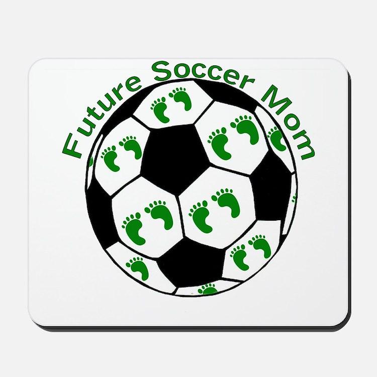 Future Soccer Mom Mousepad