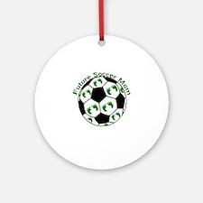 Future Soccer Mom Round Ornament