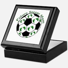 Future Soccer Mom Keepsake Box