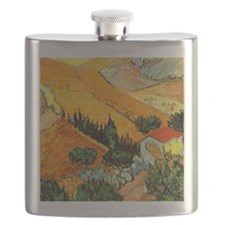 House and Ploughman Flask