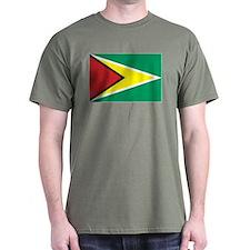 Guyanese Flag 4 T-Shirt